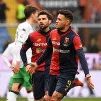 Genoa-Sassuolo 1-1: Djuricic illude gli emiliani, poi Sanabria colpisce ancora