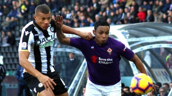Udinese-Fiorentina 1-1, Edimilson risponde a Stryger Larsen