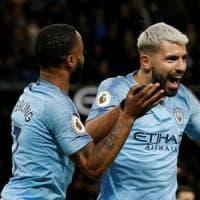 Inghilterra, il City batte l'Arsenal 3-1. Lo United vince ancora: il Leicester va ko 1-0