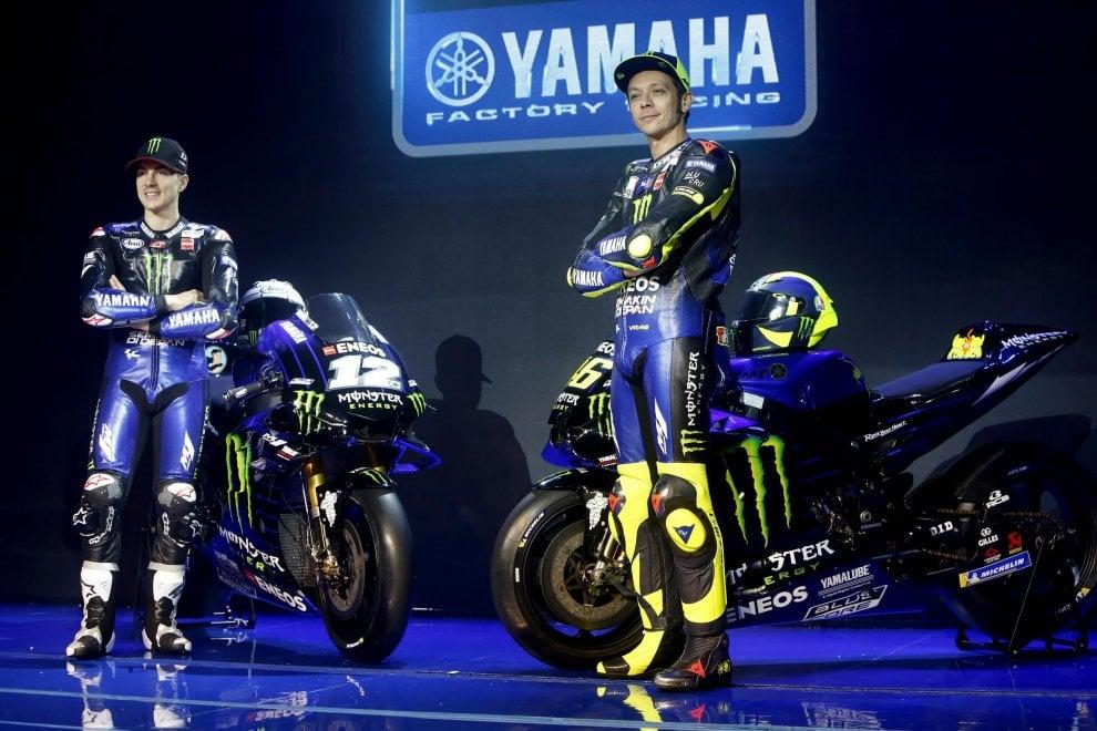 MotoGp, ecco la nuova Yamaha. Rossi: ''Un gioiello''