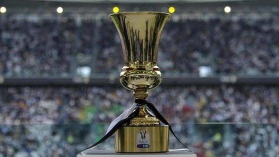 Coppa Italia, semifinali: Lazio-Milan il 26 febbraio, Fiorentina-Atalanta il 27