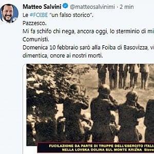 """Foibe, gli storici e la polemica di Salvini: """"Queste contrapposizioni non aiutano la ricerca della verità"""""""