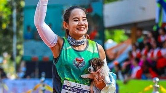 Il Maratoneta Calendario.Il Cucciolo E La Maratoneta La Storia Che Ha Commosso La