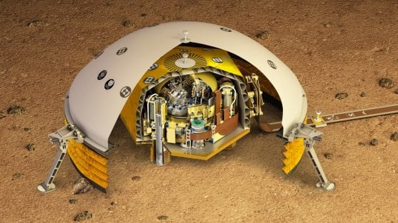 Installato il primo sismometro su Marte, ascolterà i terremoti