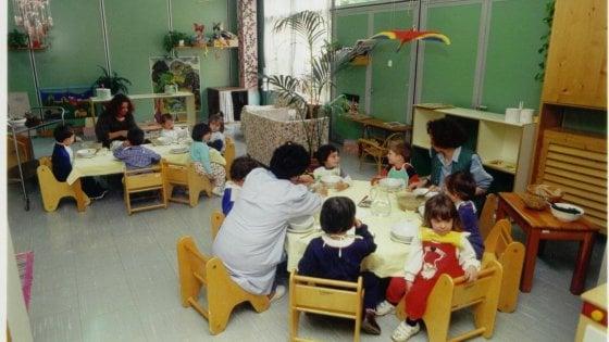 Scuola materna, cala il numero dei bambini iscritti