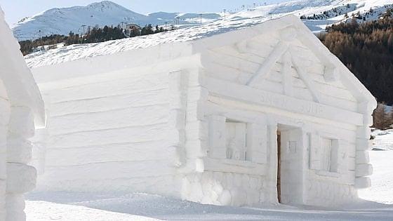 Estrema, stravagante: in Valtellina la camera d'albergo è un gatto delle nevi