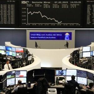 Borse in lieve calo, torna il pessimismo sull'intesa Usa-Cina