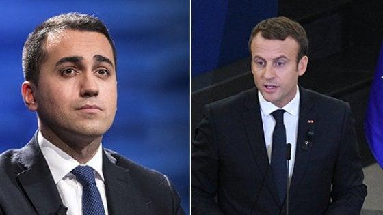 """Francia-Italia, Parigi: """"Battute e attacchi a Macron non vi hanno evitato la recessione"""""""