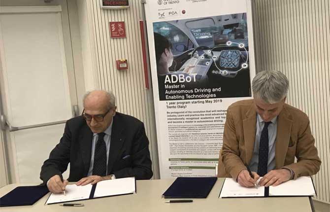 """Al via il master """"Autonomous Driving and Enabling Technologies"""""""