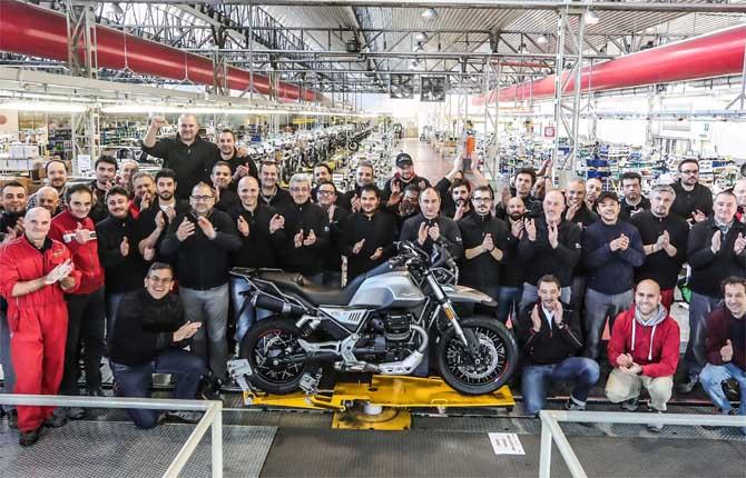 Moto Guzzi V85 TT, al via la produzione