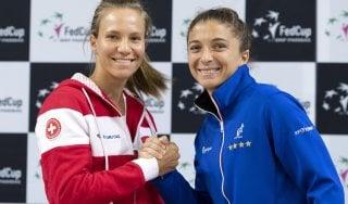 Tennis, Fed Cup: Bencic-Errani apre Svizzera-Italia. La romagnola torna dopo squalifica