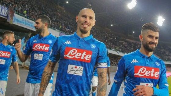 Napoli, Hamsik aspetta il via libera per la Cina. Ancelotti perde Albiol per un mese