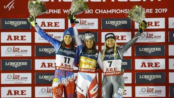 Sci, Mondiali di Are: Holdener oro in combinata, Brignone sesta