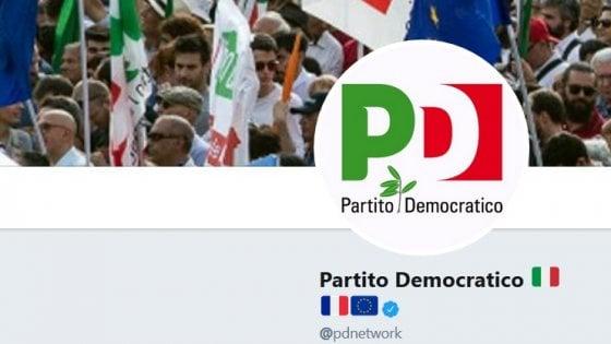 Italia Francia Il Pd Aggiunge Bandiera Francese Sullaccount