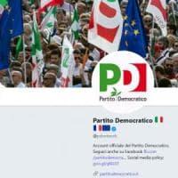 Italia-Francia, il Pd aggiunge bandiera francese sull'account Twitter. M5S e centrodestra: