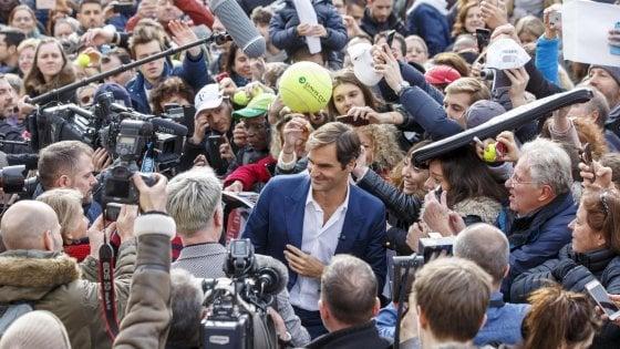 """Tennis, Federer rilancia: """"Voglio il nono Wimbledon"""""""