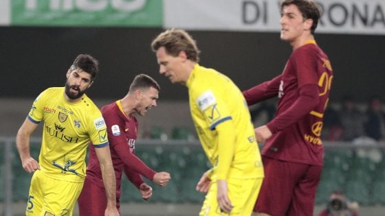 Chievo-Roma 0-3: El Shaarawy-Dzeko-Kolarov, i giallorossi replicano alla Lazio