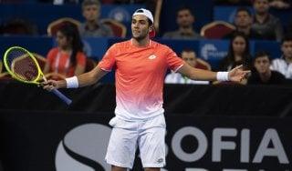 Tennis, Berrettini si ferma in semifinale a Sofia