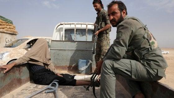 Siria, curdi e americani lanciano l'offensiva finale contro l'Isis