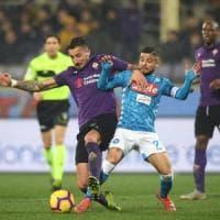 Fiorentina-Napoli 0-0: gli azzurri sbattono su Lafont, la Juve può allungare