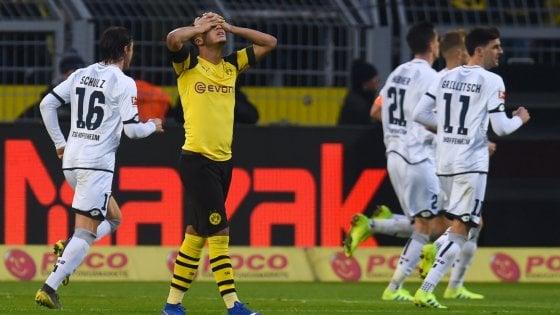 Bundesliga: harakiri Borussia Dortmund, il Bayern vince e si avvicina