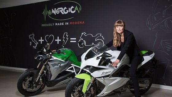 Livia Cevolini, ingegnere e ceo dell'azienda modenese Energica