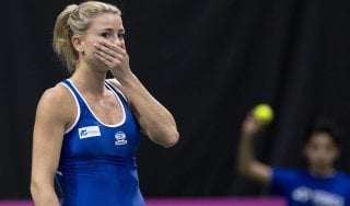 Tennis, Fed Cup; Svizzera-Italia 3-1: Giorgi tradisce ancora, azzurre al playout