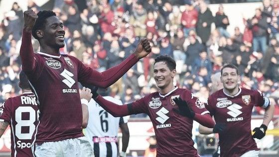 Torino-Udinese 1-0, decide Ola Aina. Sirigu e il Var salvano Mazzarri