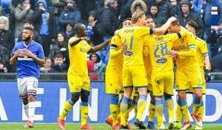 Sampdoria-Frosinone 0-1, Ciofani firma il colpo dei ciociari