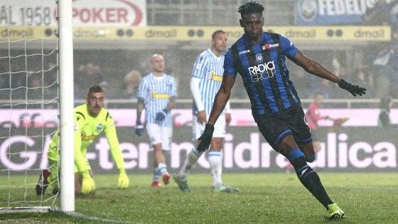 Atalanta-Spal 2-1: l'ex Petagna colpisce, Ilicic e Zapata ribaltano il match