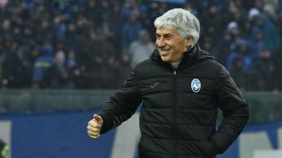 """Atalanta, Gasperini: """"Classifica bella ma il campionato è ancora lungo"""""""
