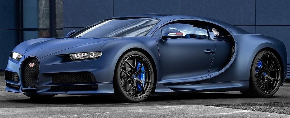 """Chiron Sport """"110 ans Bugatti"""", omaggio alla storia e alla Francia"""