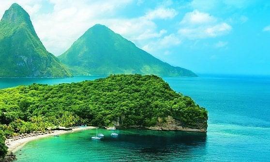 St. Lucia. I Caraibi degli innamorati sono qui