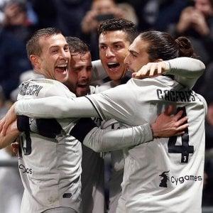 Juventus, Ronaldo applaude: ''Bravi ragazzi''