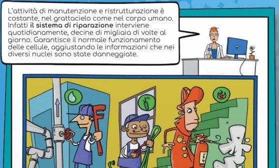 L'oncologia spiegata con le vignette