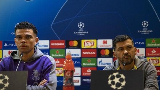 """Porto, Conceicao: """"Totti parla di sorteggio fortunato? L'ho battuto in sei derby di fila"""""""