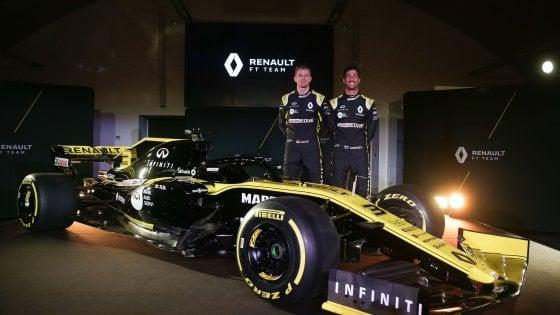 F1, ecco la nuova Renault. Novità Ricciardo: ''Faremo belle cose''