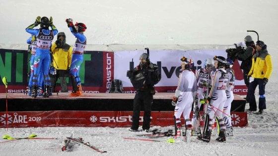 Sci, Mondiali Are: Italia vince il bronzo nel Team Event