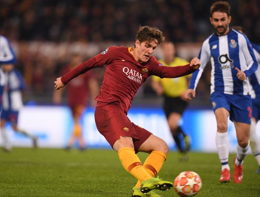 Champions, la notte magica di Zaniolo: doppietta e la Roma batte il Porto