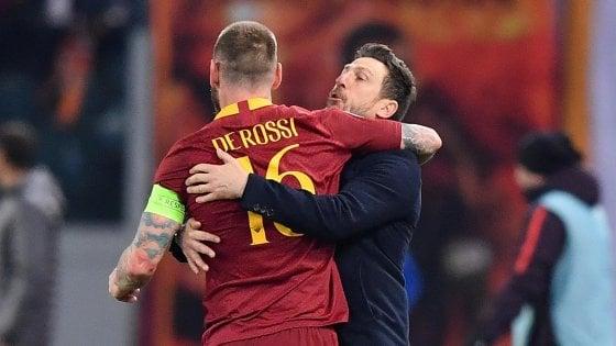 """Roma-Porto, Di Francesco: """"Prestazione di spessore, peccato per il gol subito"""""""