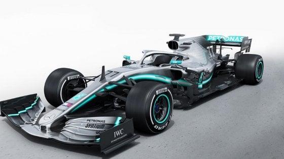Mercedes: nuove foto e video sulla F1 2019