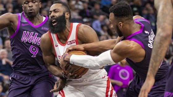 Basket, Nba: Harden nella storia, Portland stende Golden State