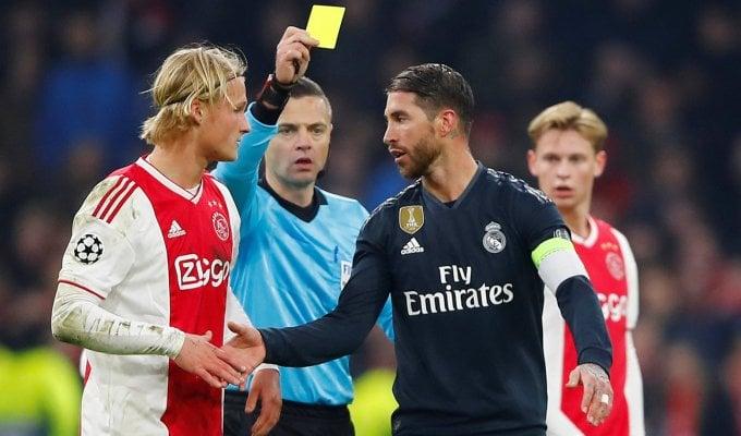 Champions: Sergio Ramos e l'ammonizione cercata, rischia due turni di stop