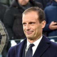 Juventus, Allegri: ''Battere il Frosinone spinta in più per la Champions''
