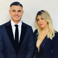 Inter, Icardi sta con Wanda: fot sui social per San Valentino