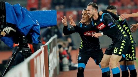 Zurigo-Napoli 1-3: Insigne, Callejon e Zielinski stendono gli svizzeri