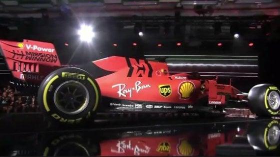 Formula 1, ecco la Ferrari di Sebastian Vettel e Charles Leclerc