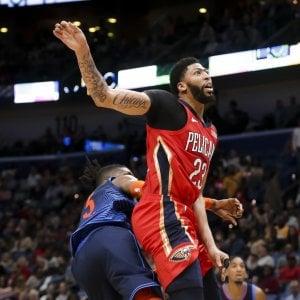 Basket, Nba: New Orleans ferma la corsa di Oklahoma, cinque di fila per Orlando