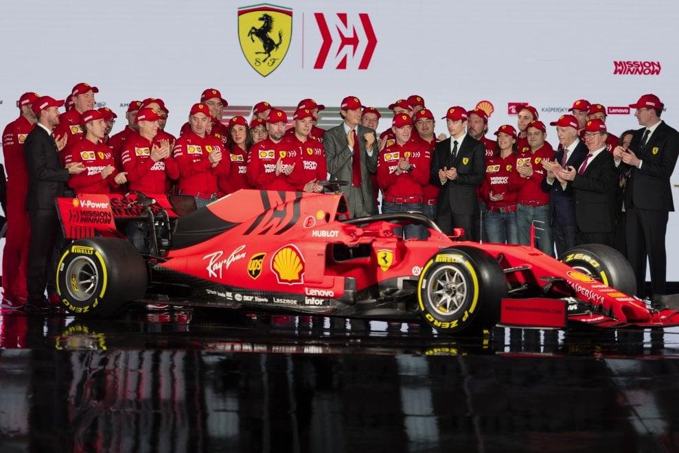 Ferrari, ecco la SF90 di Vettel e Leclerc