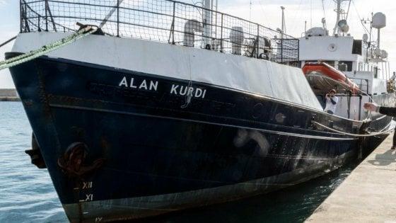 "Torna in mare la Sea Eye ma si chiamerà ""Alan Kurdi"""
